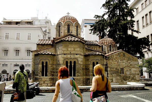 MIKRI METROPOLI, THE LITTLE CATHEDRAL, ATHENS