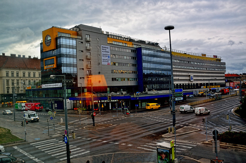 A VIENNA BUS STATION BUILDING