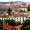 VIEW OF PRAGUE FROM THE ROYAL PALACE GROUND