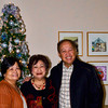 Beth Salvador, Betty and Ed Reyes.