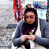 A woman vendor spotted in the Cappadocia Region of Turkey.