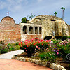 "MISSION SAN JUAN CAPISTRANO, SANTA ANA, CALIFORNIA : The miracle of the ""Swallows"" of Capistrano takes place each year at the Mission San Juan Capistano, on March 19th, St. Joseph's Day. 