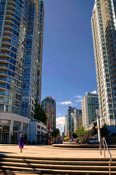 Yaletown area of Vancouver.