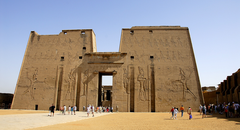 THE TEMPLE OF HORUS, EDFU, EGYPT