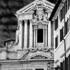CHURCH AT THE CORNER OF VINCENZO LUCHESI & VIA SCUDERIE, ROME, ITALY : This is a lovely little church but I cannot remember its name. It sits at the corner of Vincenzo Luchesi and Via Scuderie in Rome, just diagonally across the Trevi Fountain. If you come across the photos and you know the the name of the church kindly email it to me at erdna71@comcast.net