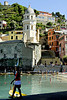 VERNAZZA, CINQUE TERRE, LA SPEZIA, ITALY : The Cinque Terre are five coastal villages in the province of La Spezia in the Liguria region of Italy. They have come to be among the most popular areas of Italy among tourists. The coastline, the five villages, and the surrounding hillsides are all encapsulated in a national park by the same name. The Cinque Terre is a UNESCO World Heritage Site.