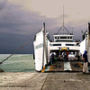 A ferry loading bound for Bacolod, Negros Occidental.