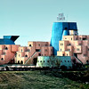 "The Peri Tower Hotel in Cappadocia region was were we stayed. The higher architectural elements of the building are symbolizing the ""fairy chimneys"" of Cappadocia."