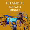 ISTANBUL - OUR GROUP'S FAREWELL DINNER : Our farewell dinner was held in a seafood restaurant in Istanbul. It was raining and cold but it did not dampen our spirits. Beth and I would like to thank all members of our travel group for your friendliness and camaraderie.
