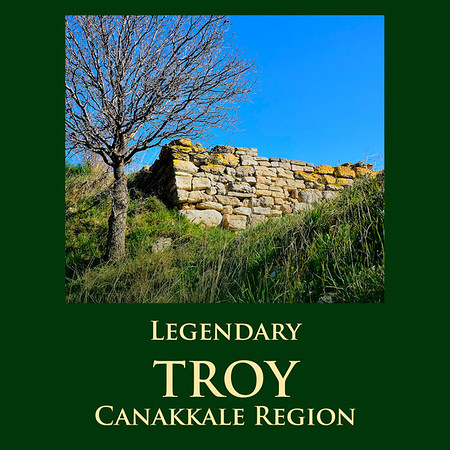 LEGENDARY TROY, CANAKKALE REGION, TURKEY