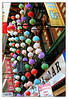 """This photo was taken at Grant street near the Chinese gateway pagoda. Those colorful lanterns caught my eyes. This area is a colorful fusion of a Chinese market town and American main street. The Chinatown in San Francisco is a very densely populated 24 block core bounded ny Broadway Street, Montgomery, California and Powell Street. You must walk San Francisco's Chinatown to fully experience Chinatown's vibrant and intense character.  <FONT size""""-5"""">Information taken from sfchinatown.com</FONT>"""
