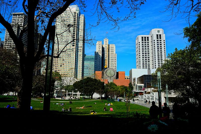 YERBA BUENA CENTER GARDEN, SAN FRANCISCO, CALIFORNIA