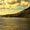 View of Nawiliwili Harbor, Kauai, Hawaii, USA.