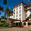 Panoramic Hotel is our home for 2 nights and 2 days in Porto Iguazu' a small sleepy town. The hotel overlooks the Parana river has a huge landscape garden at the fron and sides.
