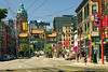 The gateway to Chinatown in Vancouver.